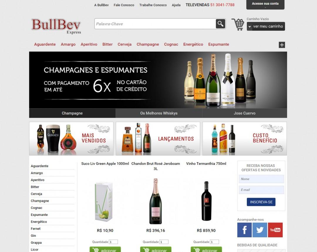 Loja Virtual Bullbev
