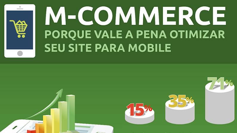 M-commerce: Infográfico sobre o futuro do mobile