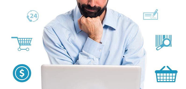 Publicou a sua loja virtual? Descubra como começar a vender.