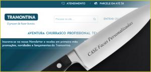 Loja Virtual Facas Personalizadas Tramontina