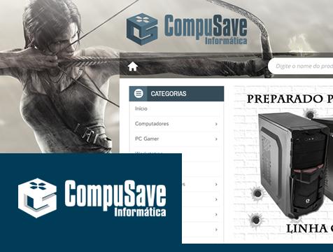 Loja Virtual Personalizada Magento Compusave