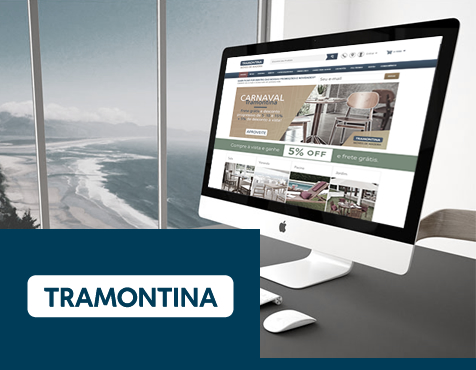 Loja Virtual Magento Tramontina Móveis de Madeira